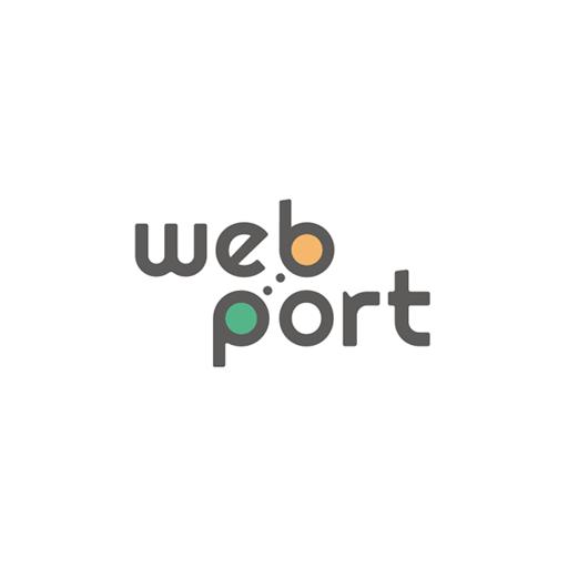 Webport logo